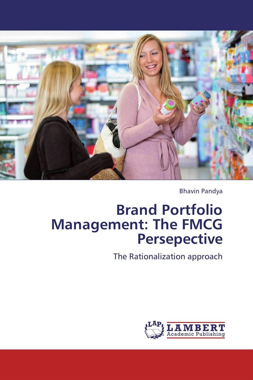 Brand Portfolio Management: The FMCG Persepective roger stein m active credit portfolio management in practice