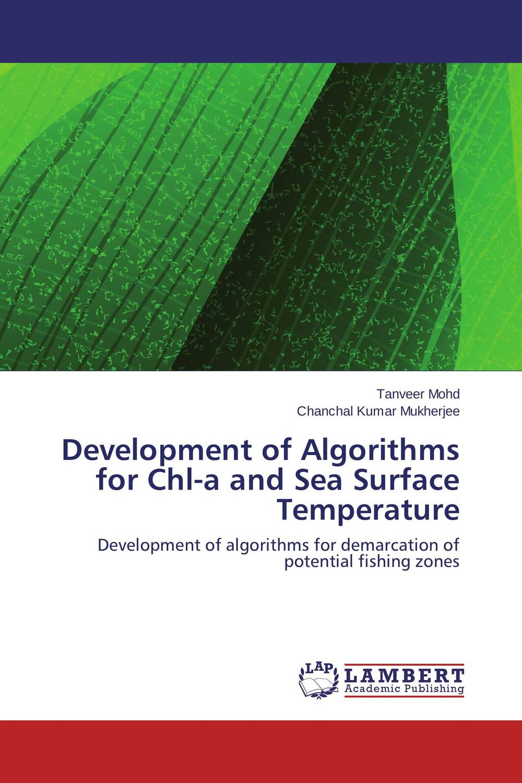Development of Algorithms for Chl-a and Sea Surface Temperature брюки modis modis mo044ewrfv50