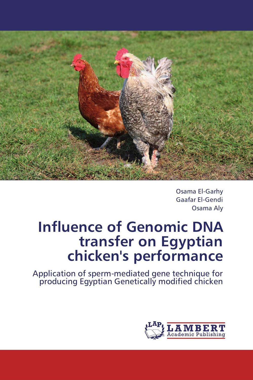 Influence of Genomic DNA transfer on Egyptian chicken's performance rakesh kumar tiwari and rajendra prasad ojha conformation and stability of mixed dna triplex