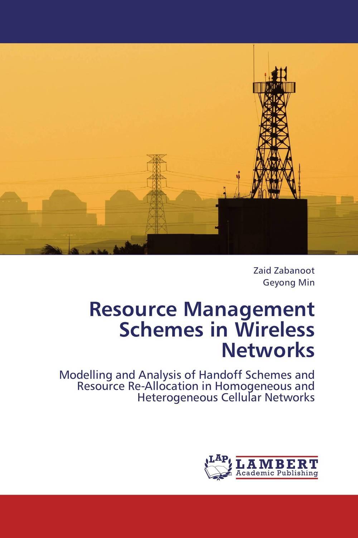 Resource Management Schemes in Wireless Networks