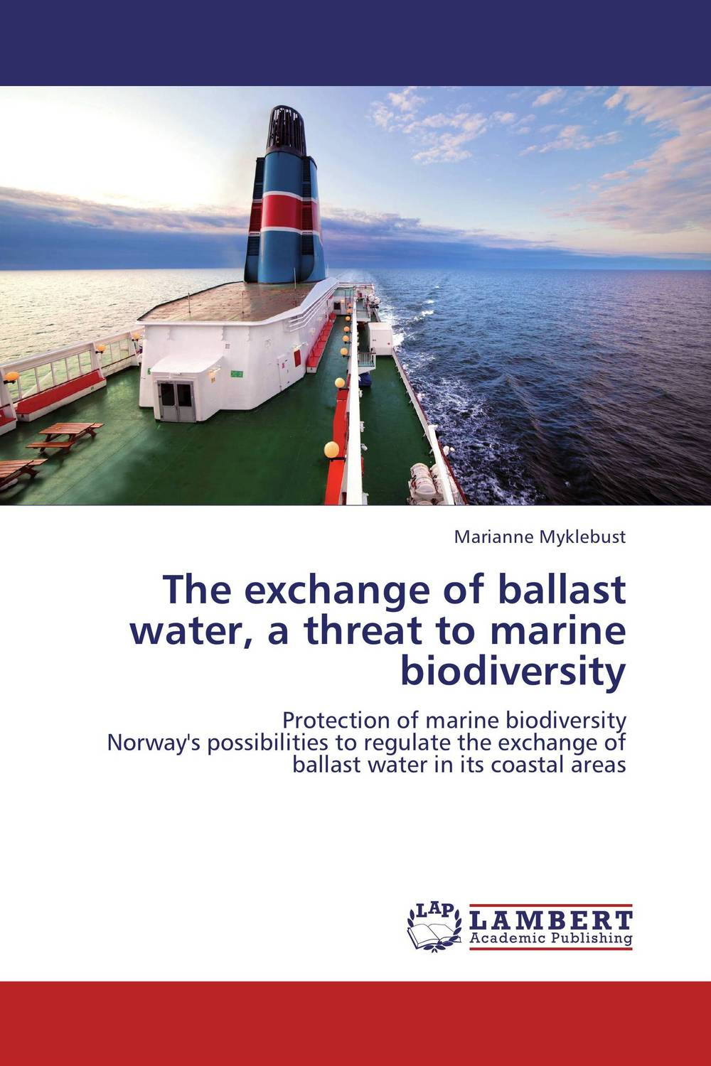 The exchange of ballast water, a threat to marine biodiversity affair of state an