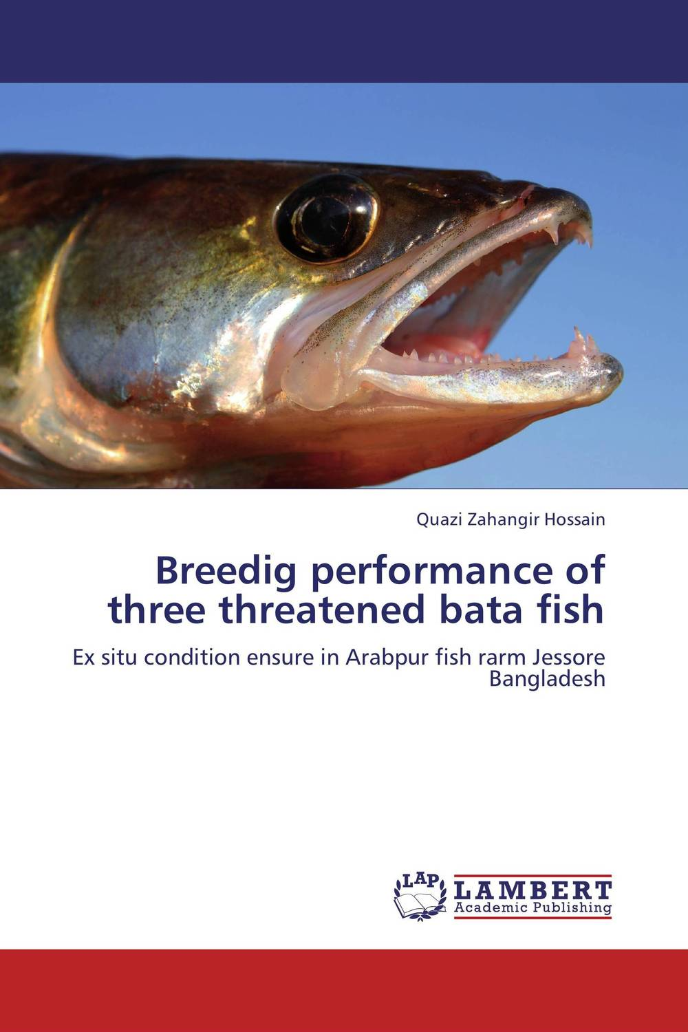 Breedig performance of three threatened bata fish postpatum bloodloss in labours induced with prostaglandinse2