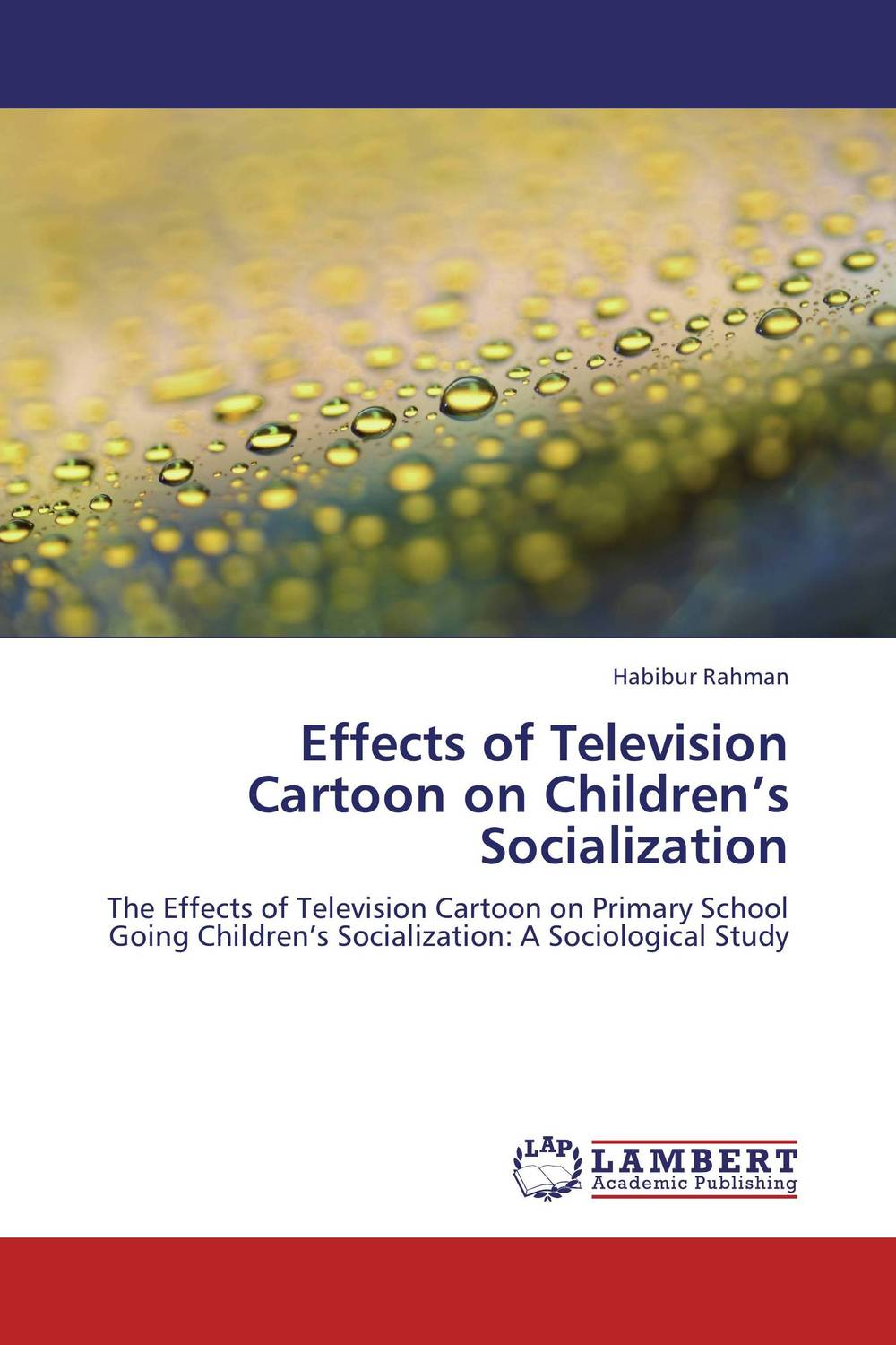 Effects of Television Cartoon on Children's Socialization