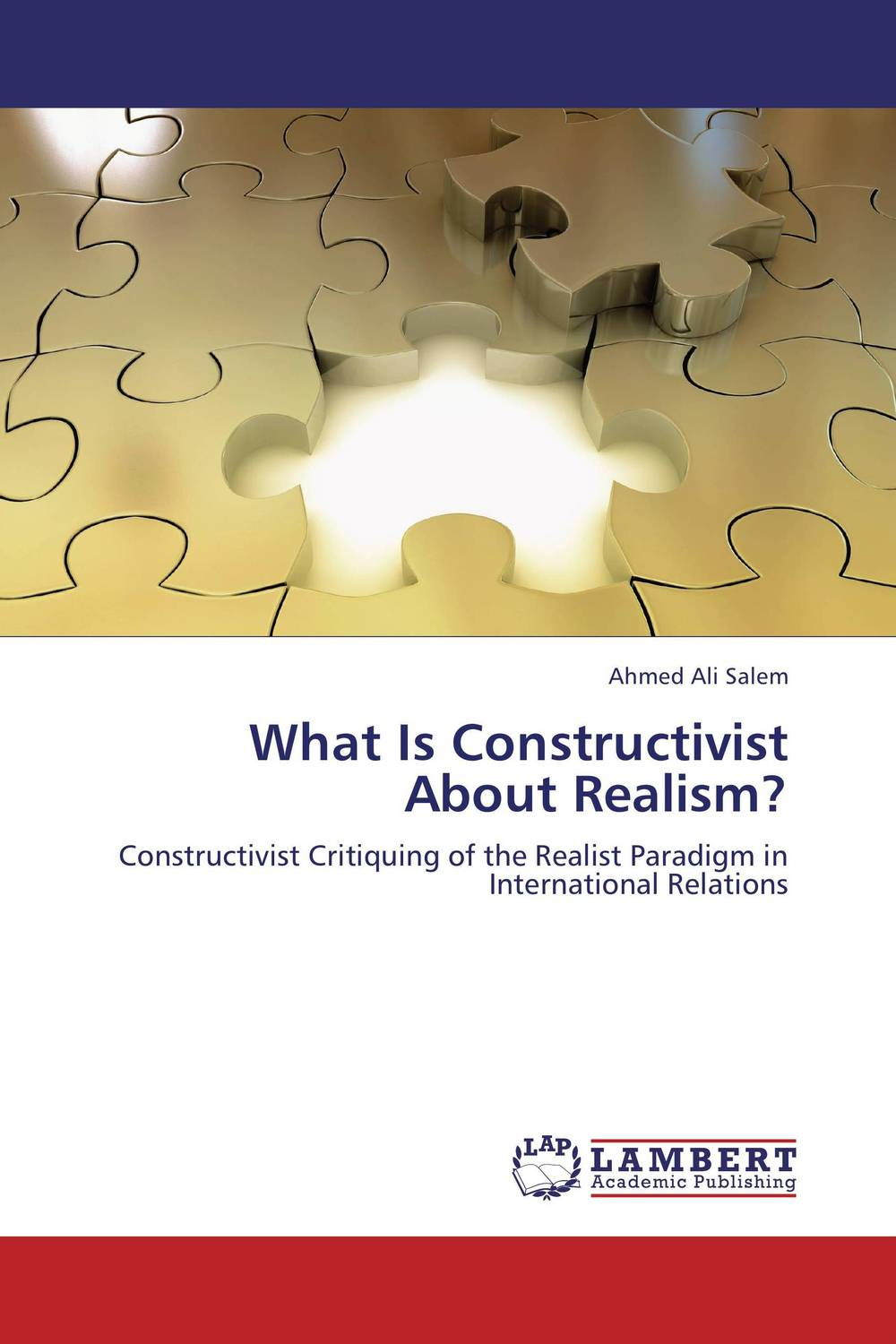 What Is Constructivist About Realism? constructivism or realism