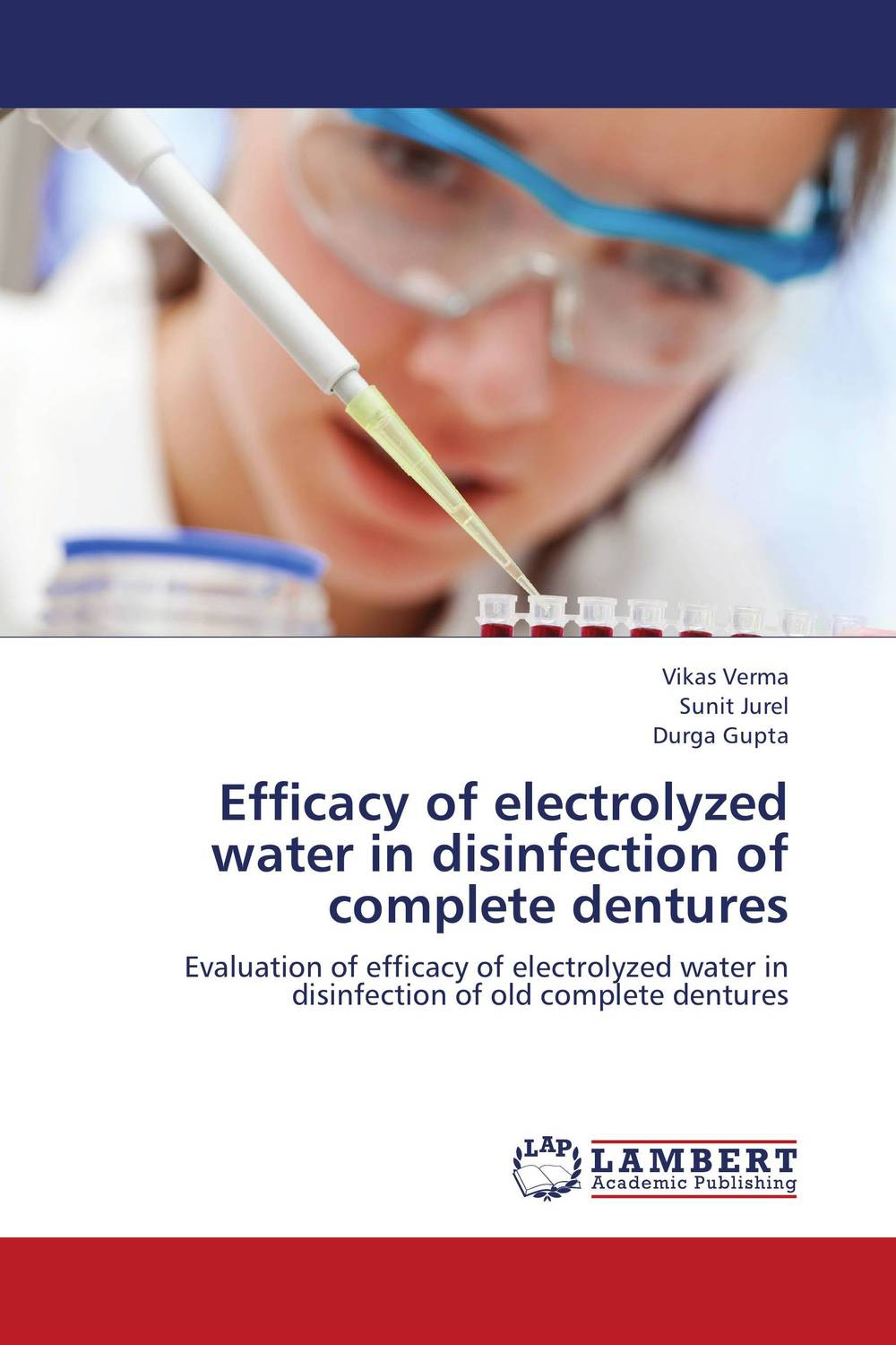Efficacy of electrolyzed water in disinfection of complete dentures bride of the water god v 3