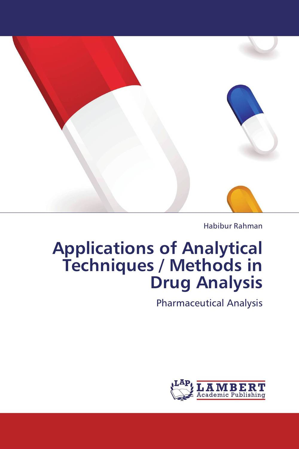 Applications of Analytical Techniques / Methods in Drug Analysis купить