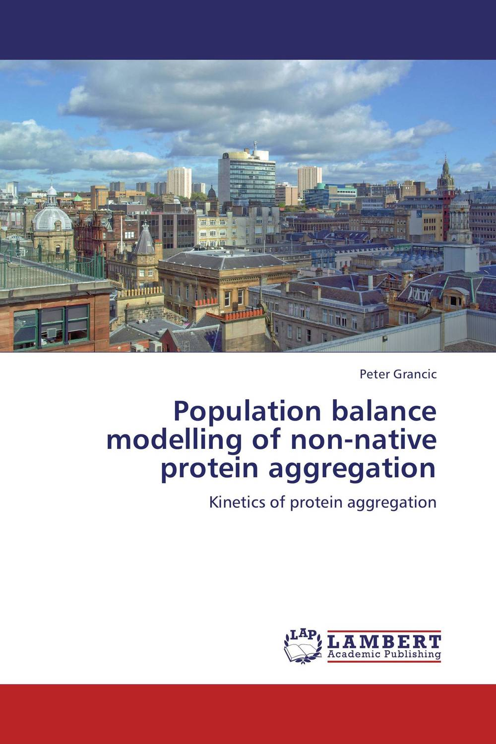 Population balance modelling of non-native protein aggregation non linear absorption kinetics of drugs
