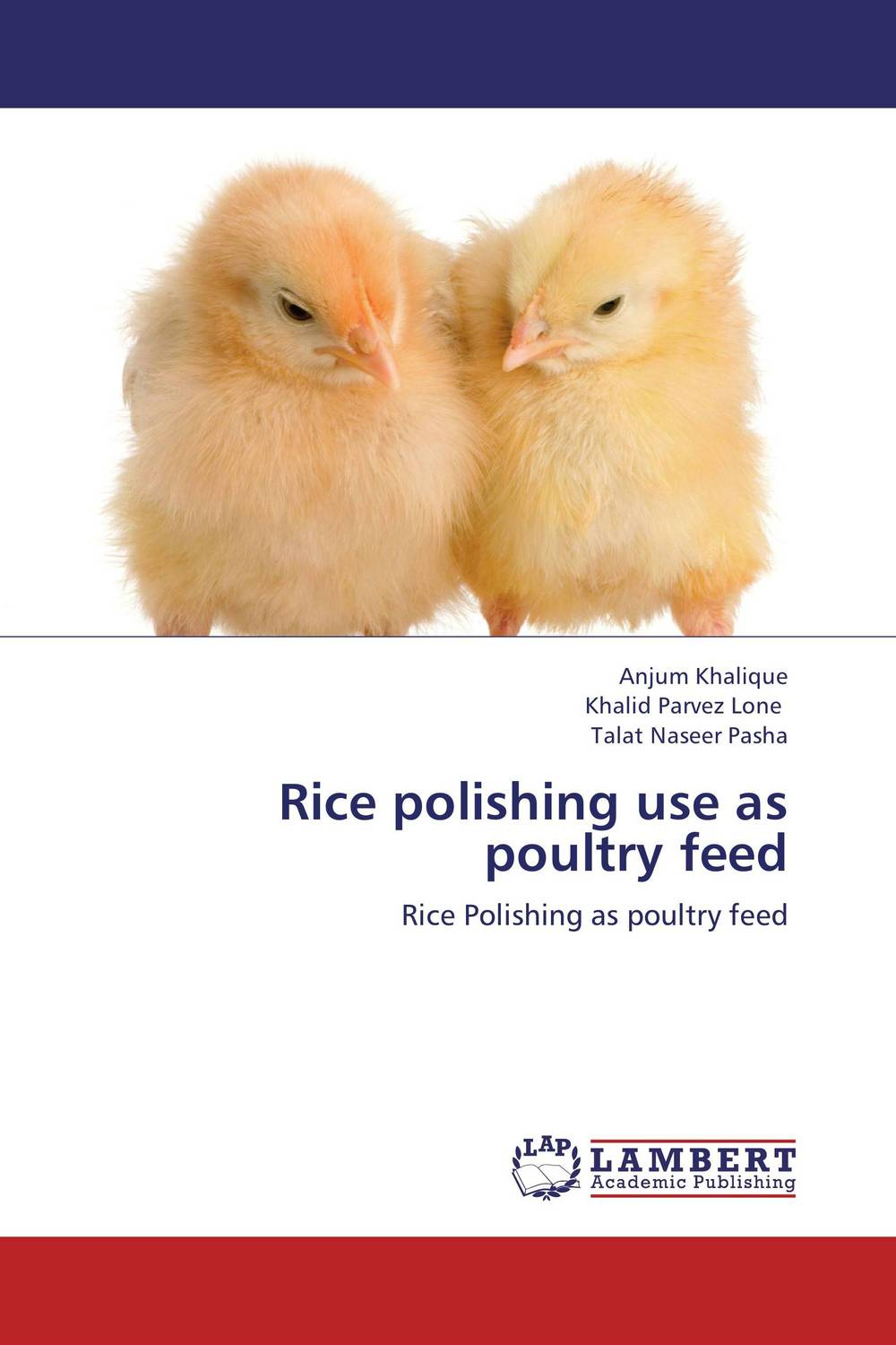 Rice polishing use as poultry feed