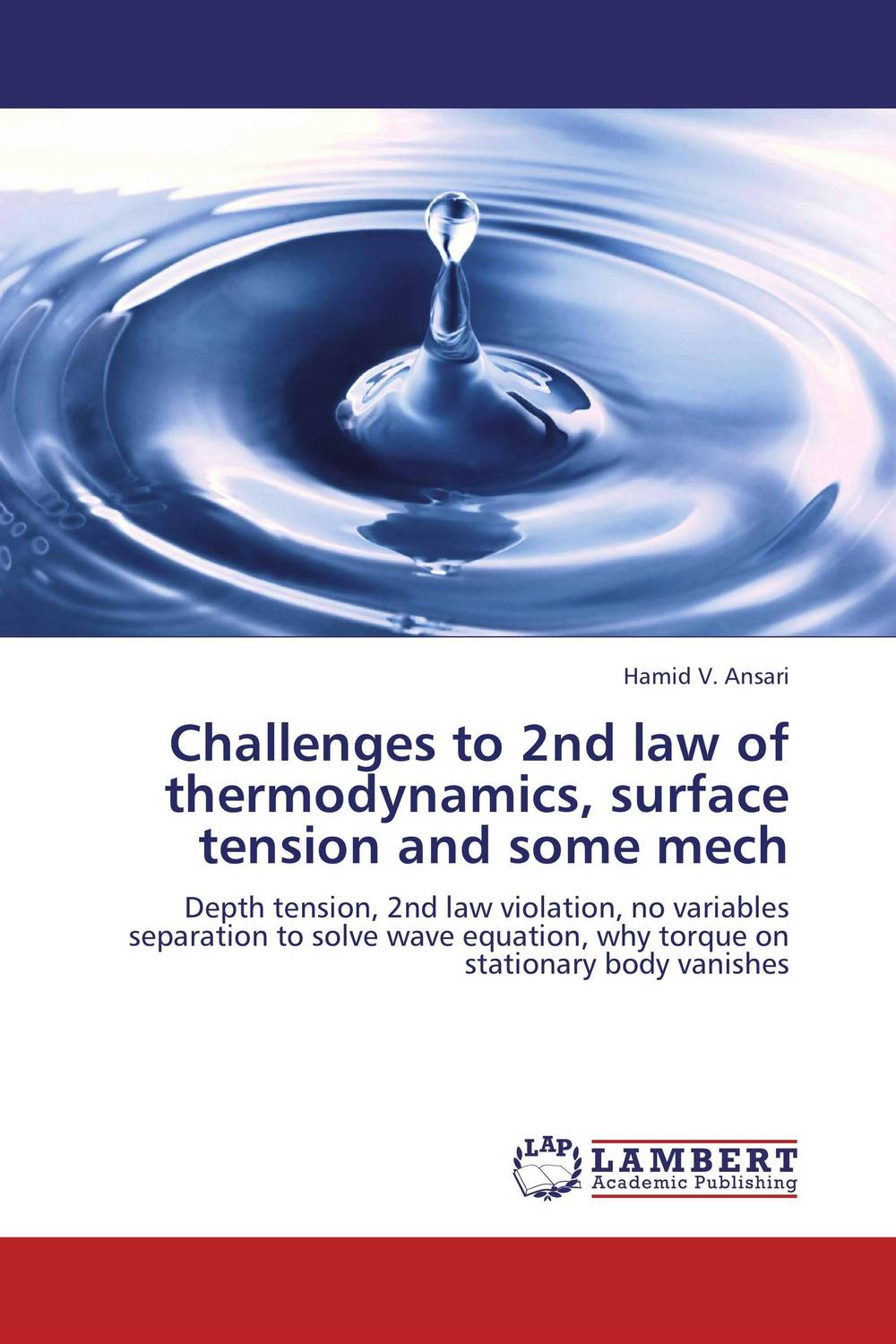 Challenges to 2nd law of thermodynamics, surface tension and some mech economizer forces heat transmission from liquid to vapour effectively and keep pressure drop down to a reasonable level