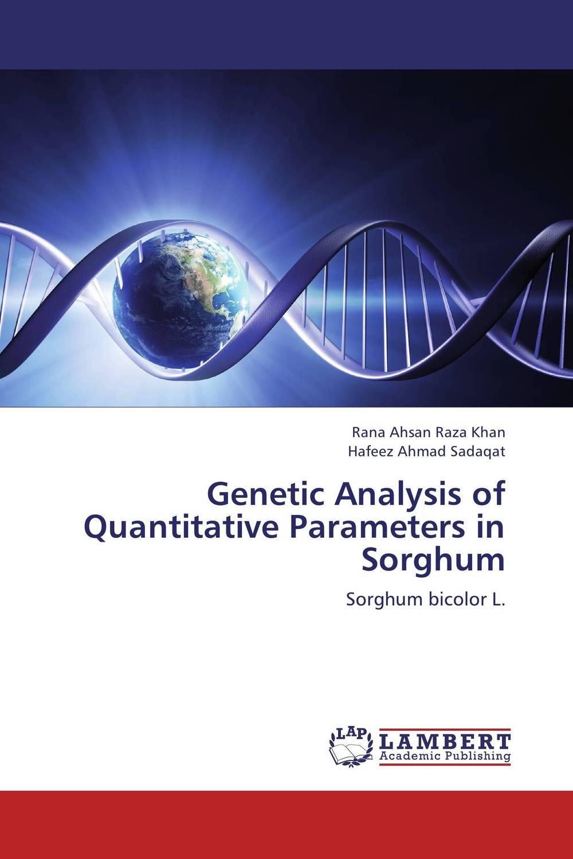 Genetic Analysis of Quantitative Parameters in Sorghum