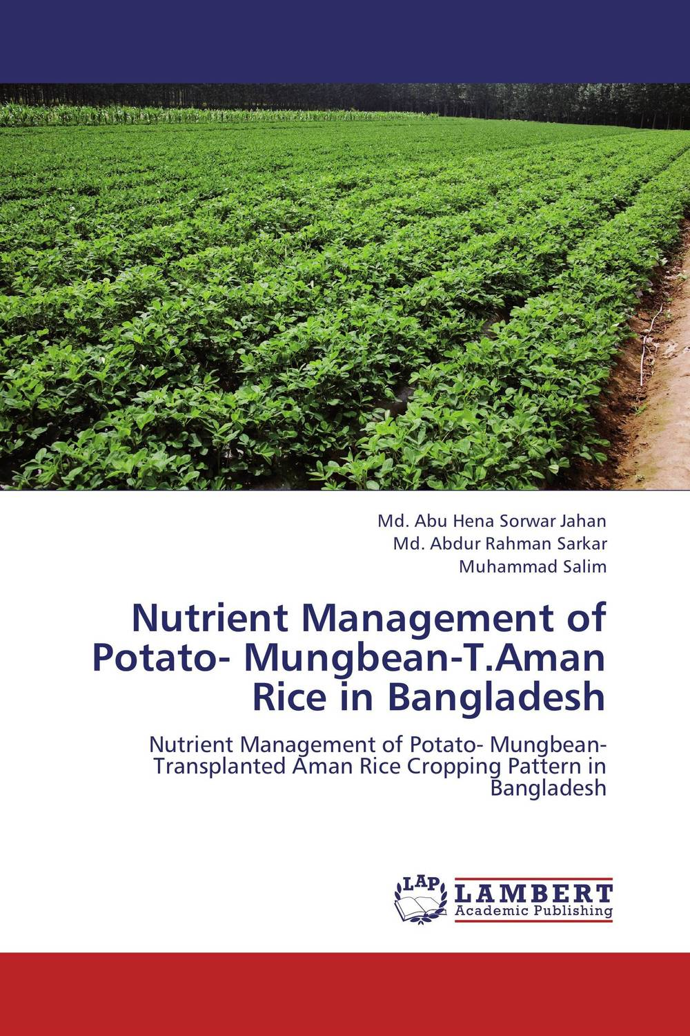 Nutrient Management of Potato- Mungbean-T.Aman Rice in Bangladesh k r k naidu a v ramana and r veeraraghavaiah common vetch management in rice fallow blackgram