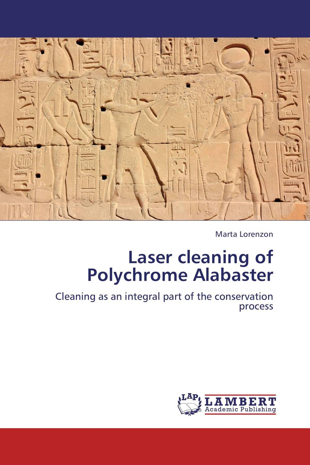 Laser cleaning of Polychrome Alabaster