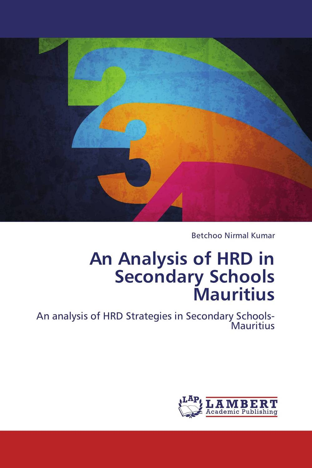 An Analysis of HRD in Secondary Schools Mauritius 6871qyh036b good working tested