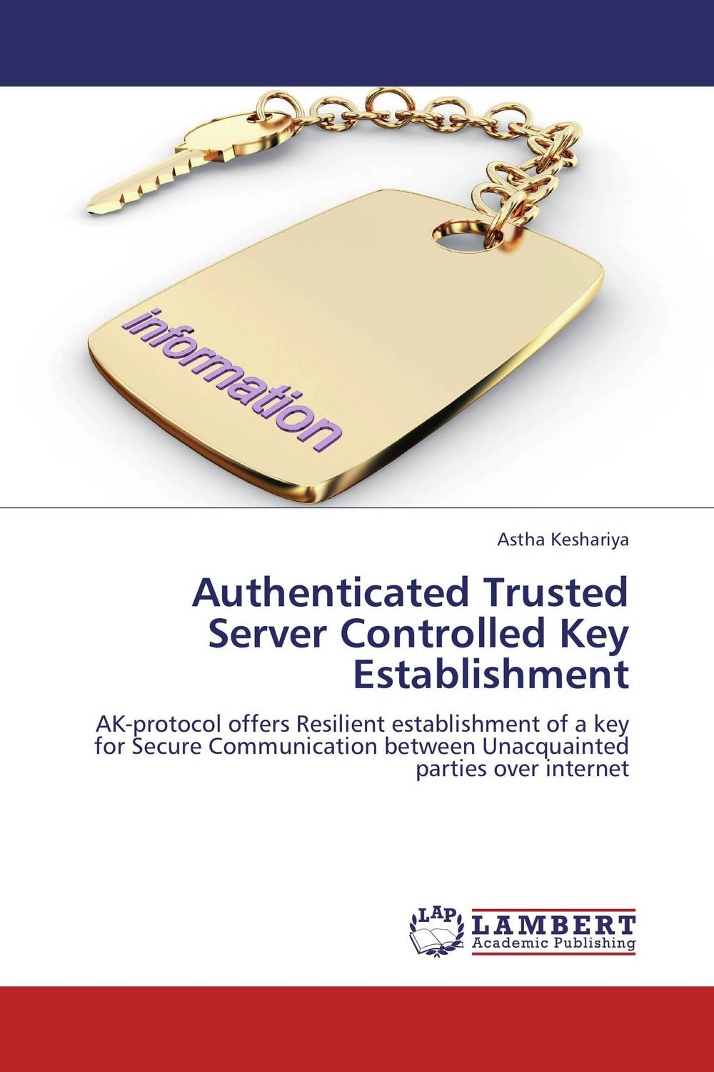 Authenticated Trusted Server Controlled Key Establishment belousov a security features of banknotes and other documents methods of authentication manual денежные билеты бланки ценных бумаг и документов