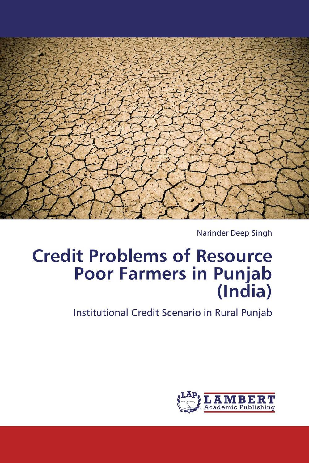 Credit Problems of Resource Poor Farmers in Punjab (India) jaynal ud din ahmed and mohd abdul rashid institutional finance for micro and small entreprises in india