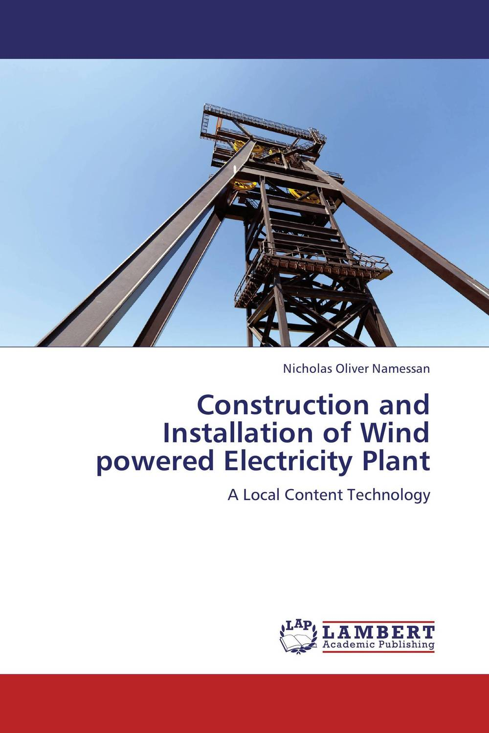 Construction and Installation of Wind powered Electricity Plant handheld digital anemometer for wind speed measurement