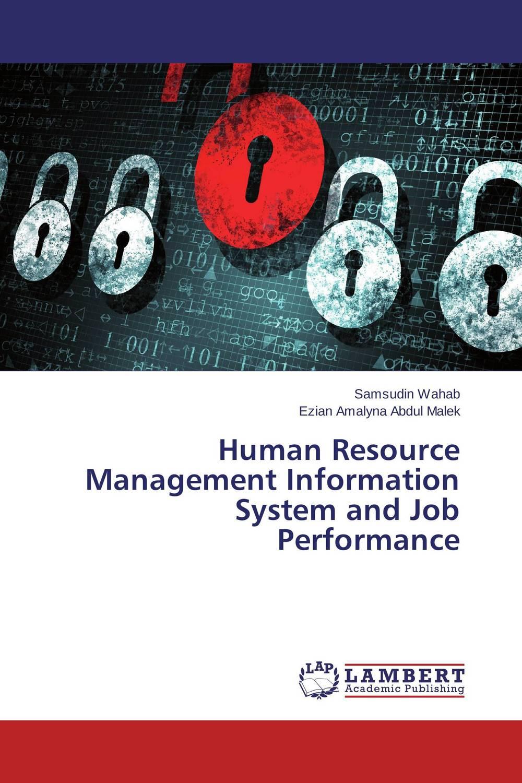 Human Resource Management Information System     and Job Performance land use information system