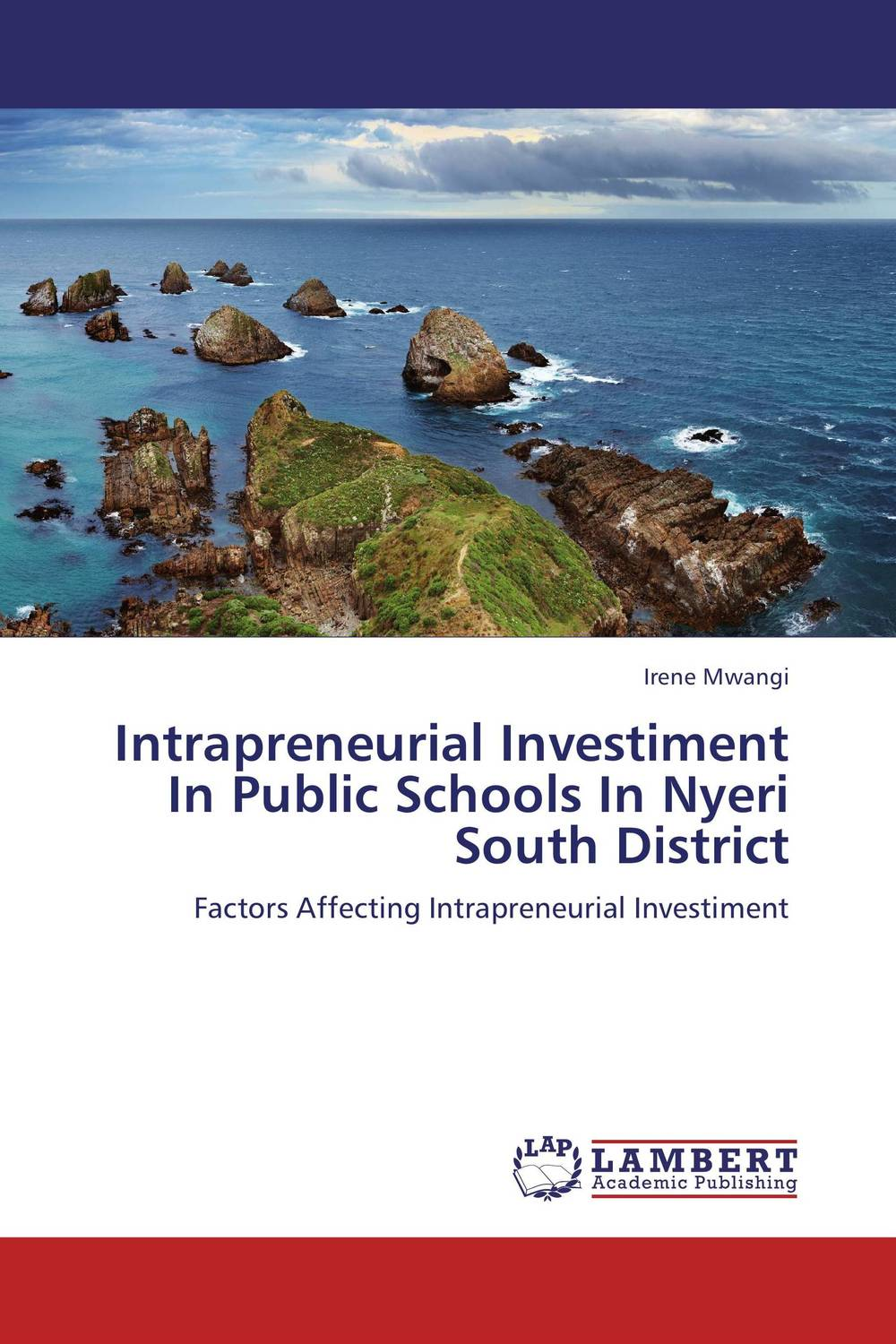 Intrapreneurial Investiment In Public Schools In Nyeri South District