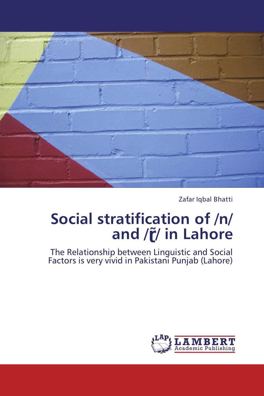 Social stratification of /n/ and /??/ in Lahore social distortion social distortion somewhere between heaven and hell lp
