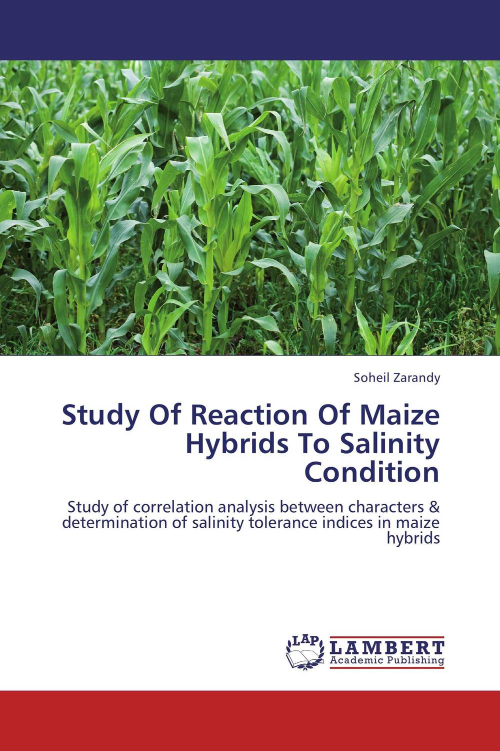 Study Of Reaction Of Maize Hybrids To Salinity Condition amber sattar and muhammad asif genetics of salinity tolerance in okra