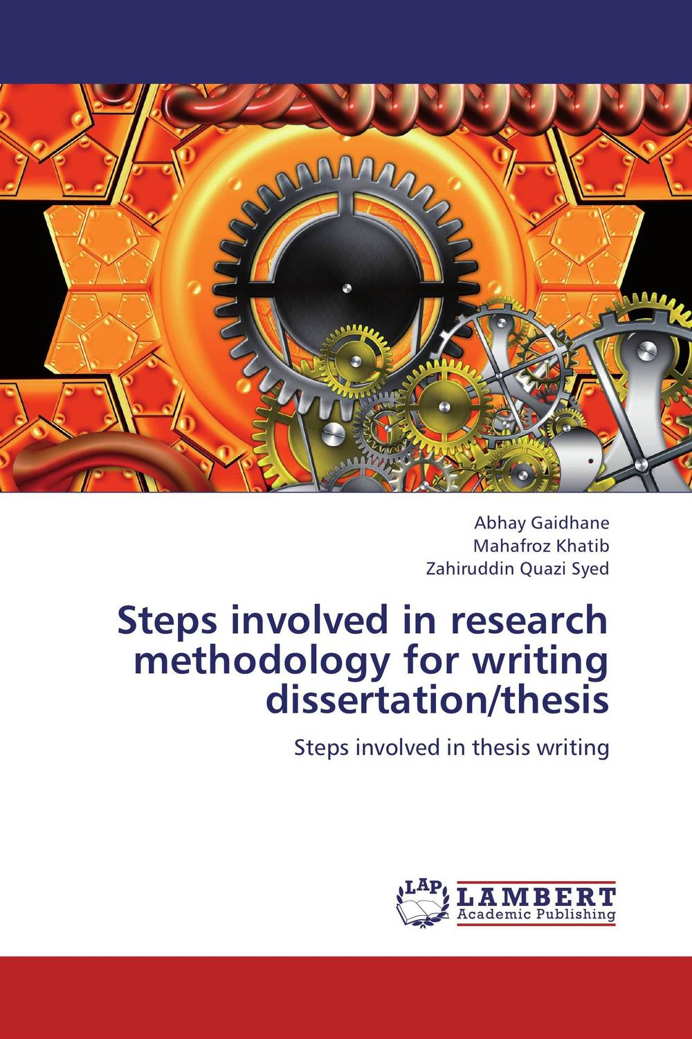 Steps involved in research methodology for writing dissertation/thesis