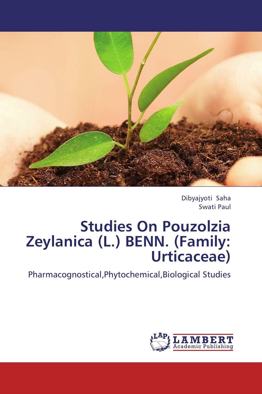 Studies On Pouzolzia Zeylanica (L.) BENN. (Family: Urticaceae) sadat khattab usama abdul raouf and tsutomu kodaki bio ethanol for future from woody biomass