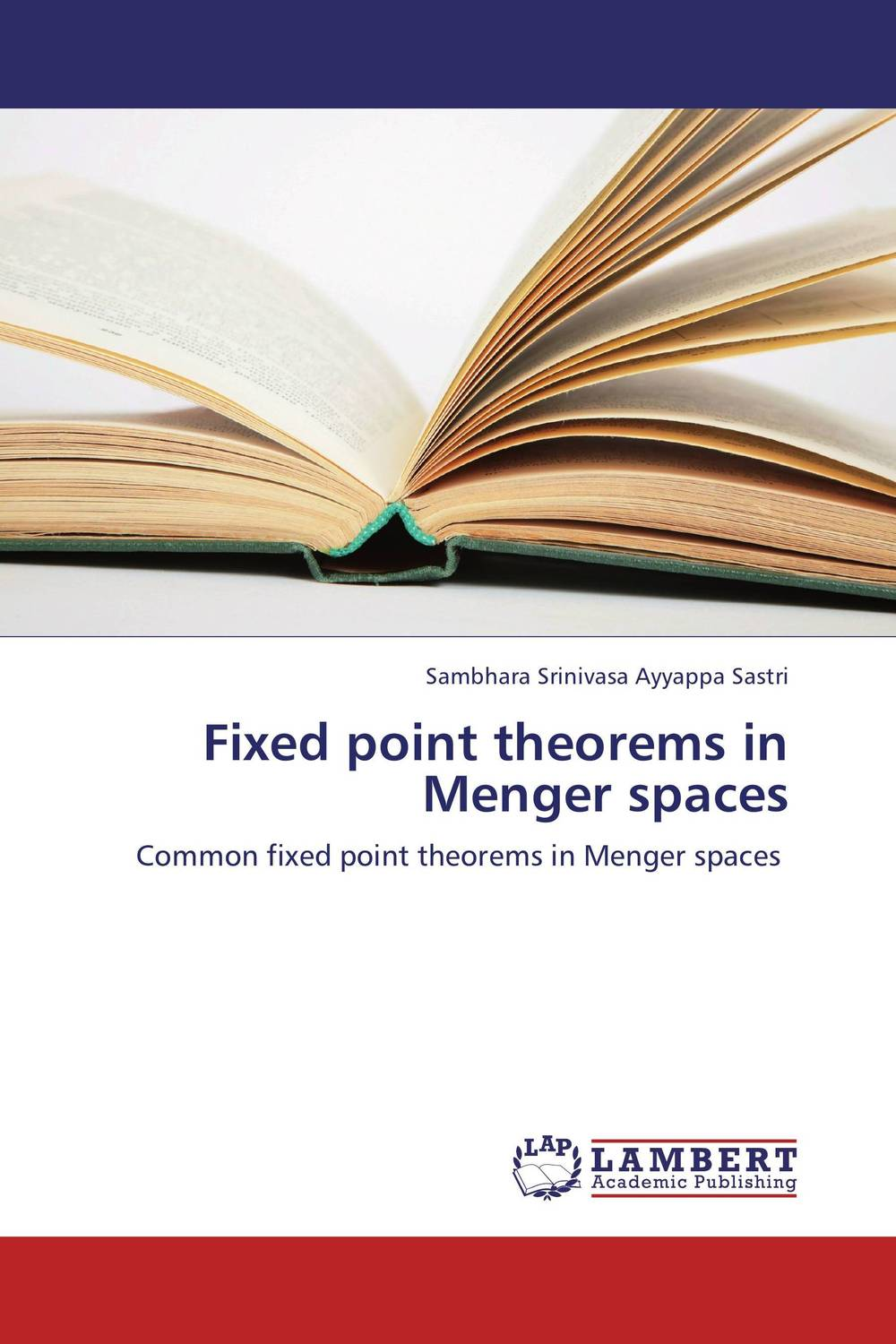 Fixed point theorems in Menger spaces nirmal kumar singh and ravi prakash dubey fixed point theorems in topological spaces with application to fratal