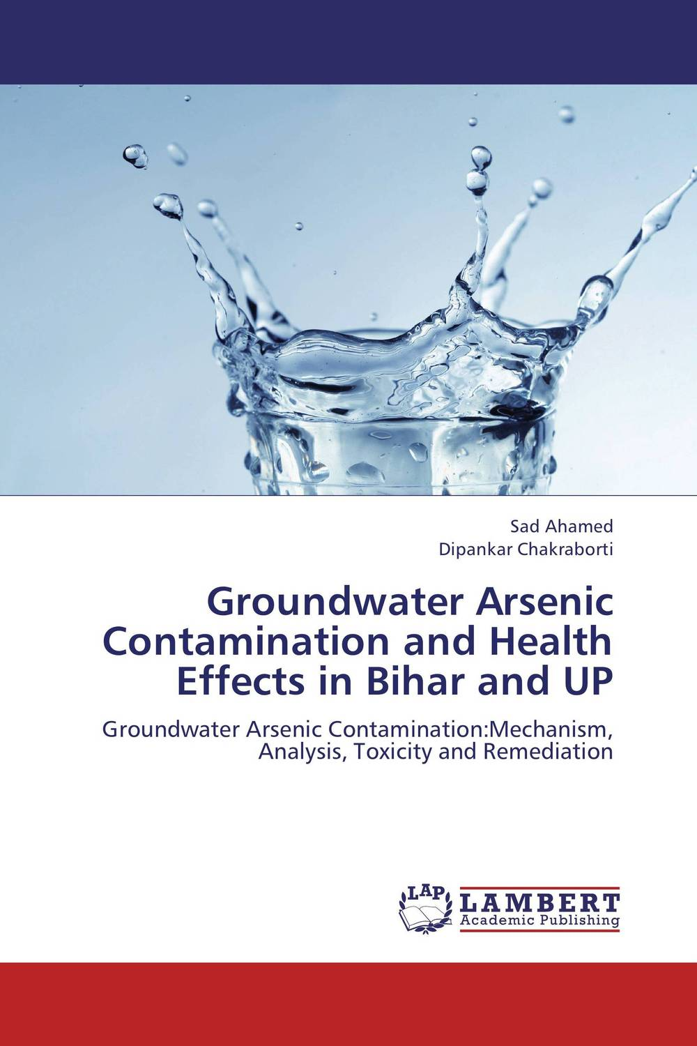 Groundwater Arsenic Contamination and Health Effects in Bihar and UP sources of chloride and its impact on groundwater