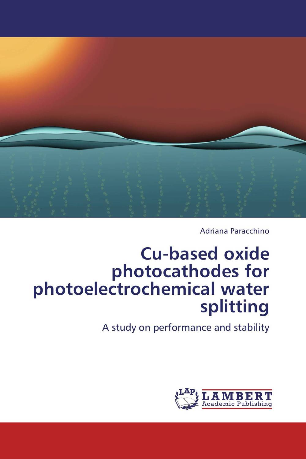 Cu-based oxide photocathodes for photoelectrochemical water splitting
