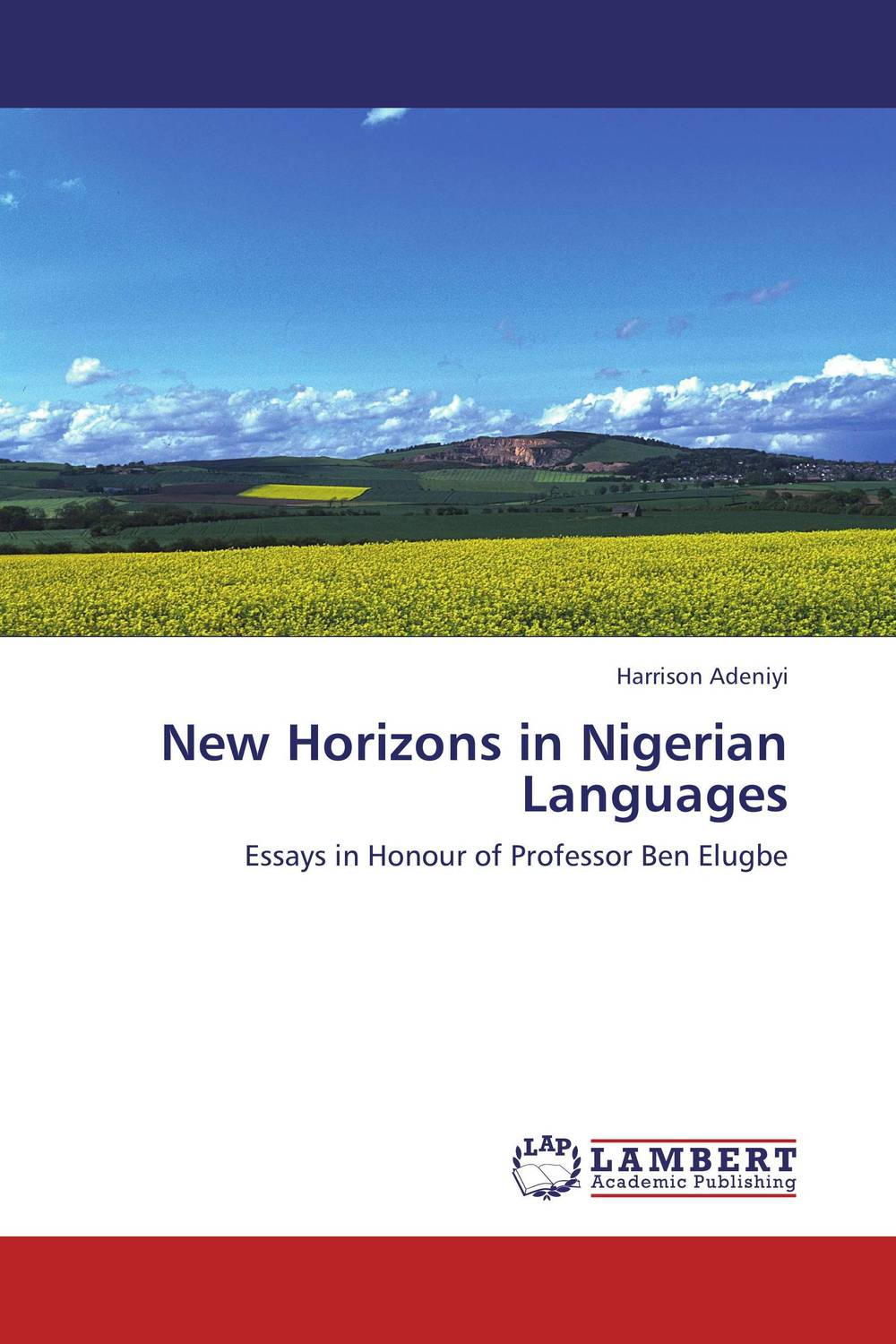 New Horizons in Nigerian Languages ghanaian and nigerian english some comparative phonological features