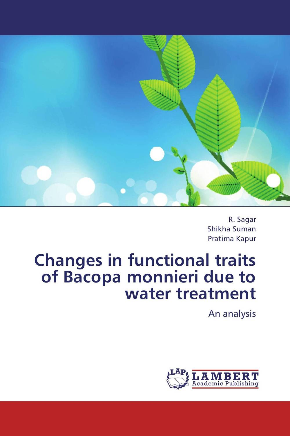Changes in functional traits of Bacopa monnieri due to water treatment ce emc lvd fcc ozonizer for gas treatment in electronic plant