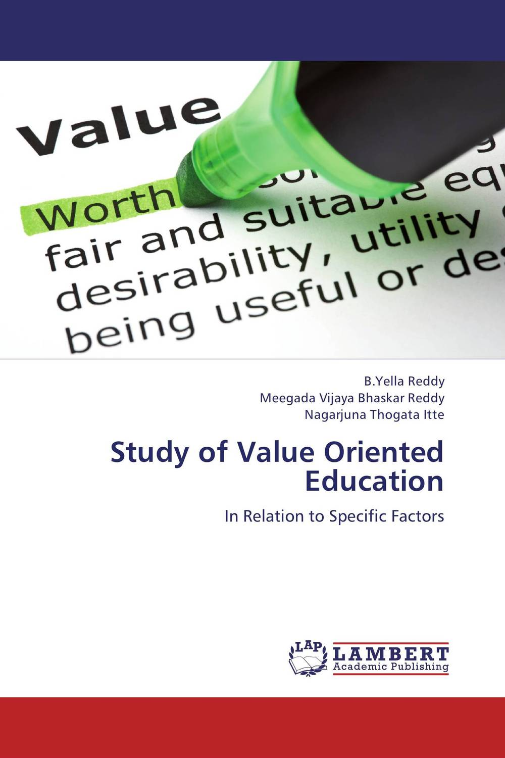 Study of Value Oriented Education