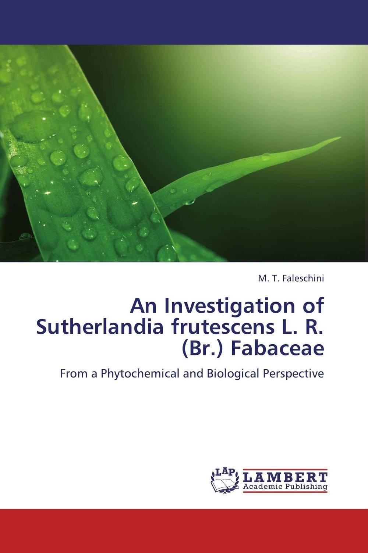 An Investigation of Sutherlandia frutescens L. R. (Br.) Fabaceae rohit r limbachiya vaibhav j limbachiya and yashesh a darji experimental investigation of twin screw extruder machine
