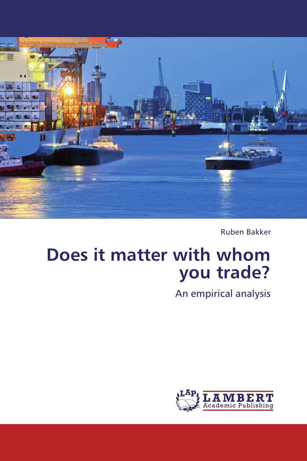 Does it matter with whom you trade? brett kustigian mission driven educational leadership does it matter