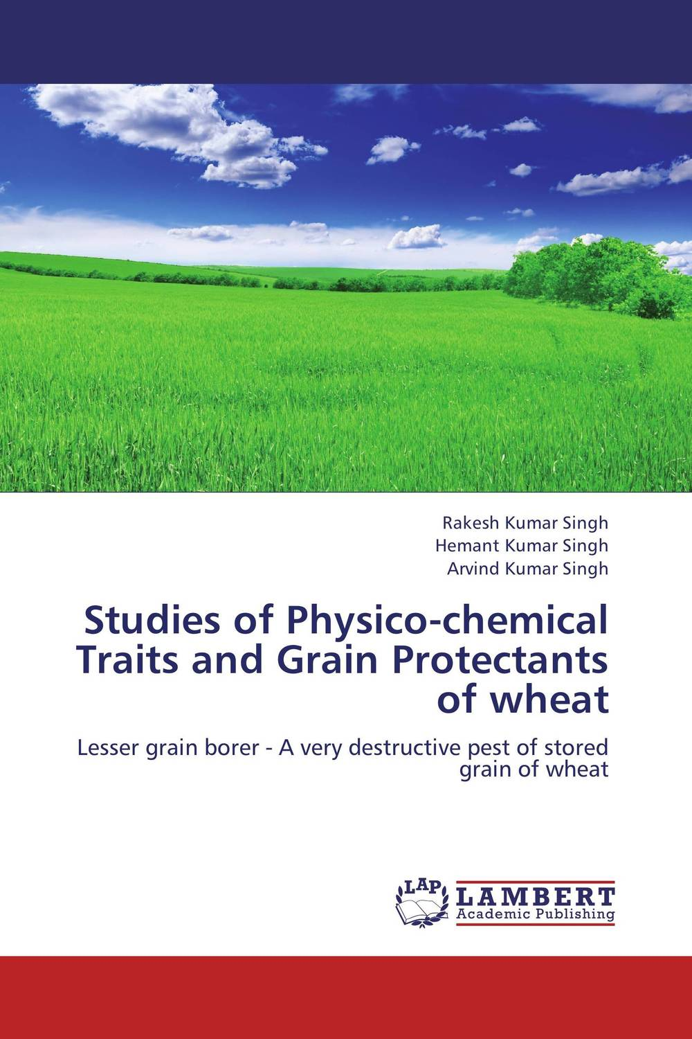 Studies of Physico-chemical Traits and Grain Protectants of wheat devices for detection and management of stored grain insects