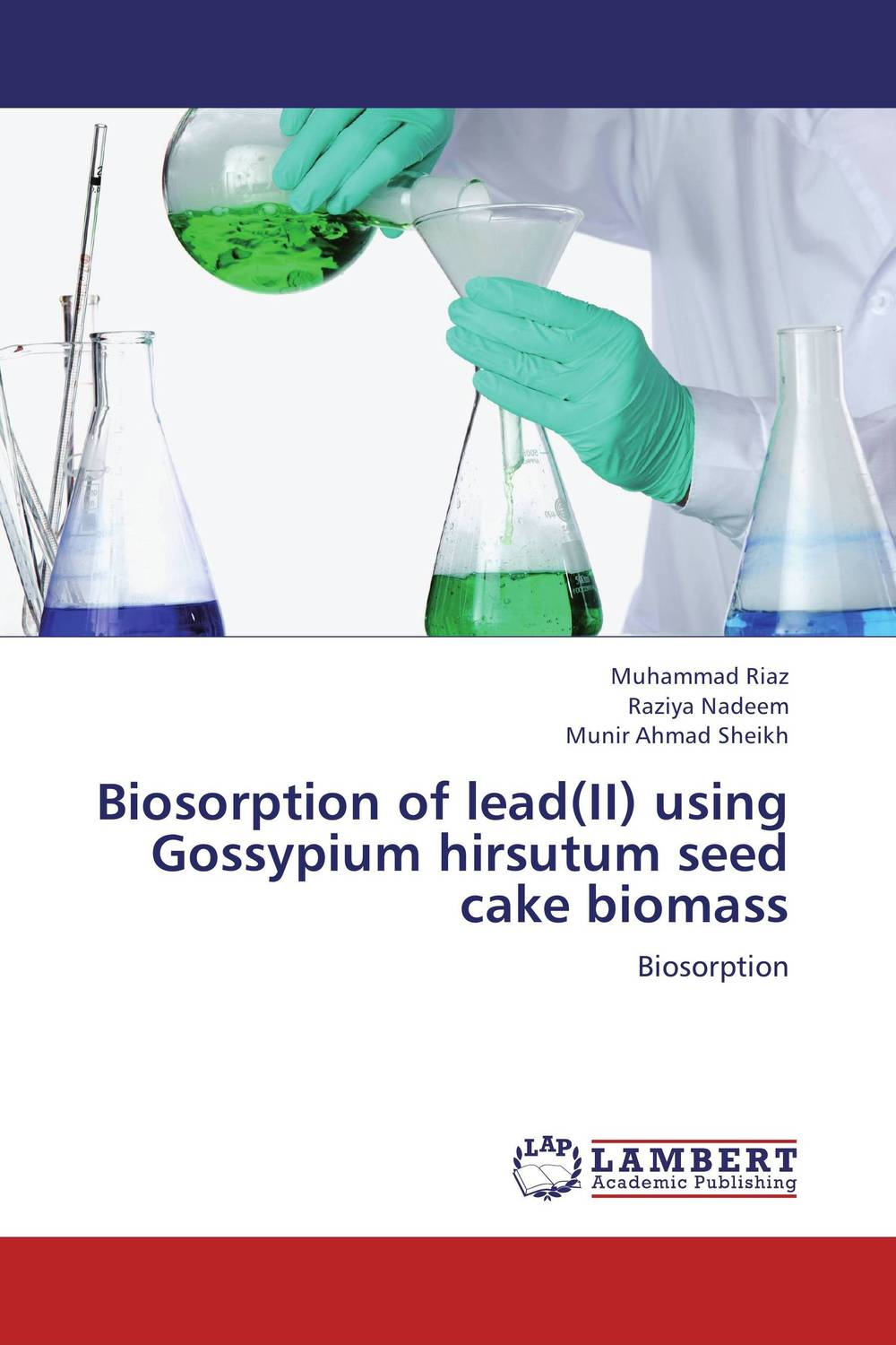 все цены на Biosorption of lead(II) using Gossypium hirsutum seed cake biomass в интернете