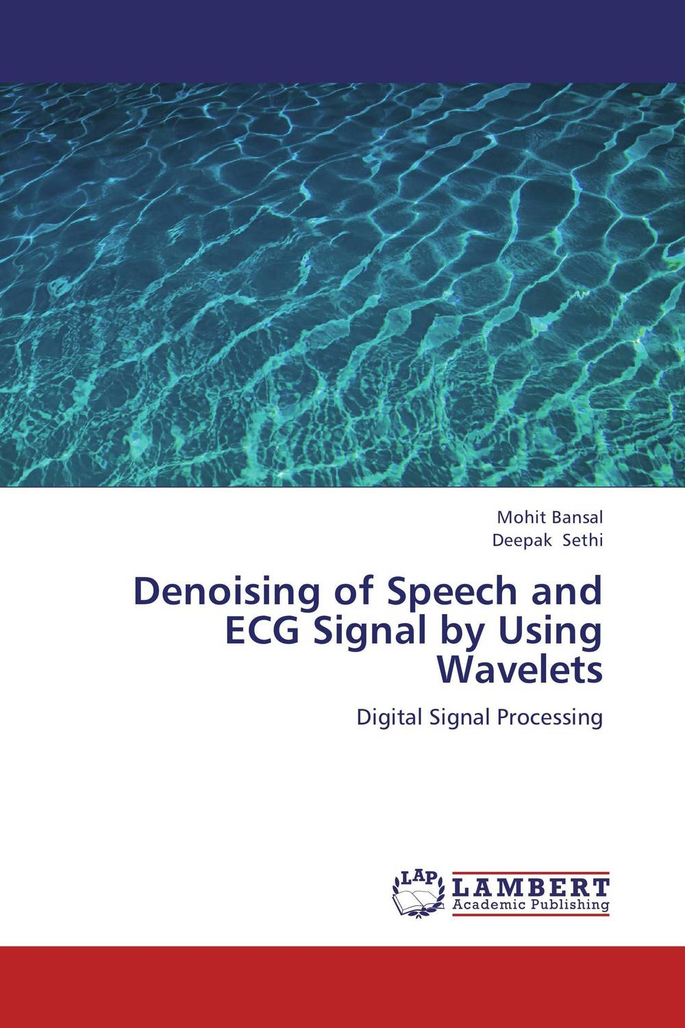 Denoising of Speech and ECG Signal by Using Wavelets a subspace approach for speech signal modelling and classification