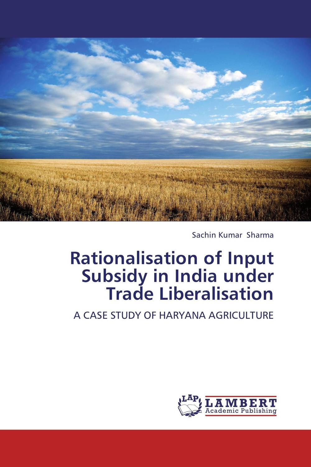 Rationalisation of Input Subsidy in India under Trade Liberalisation pastoralism and agriculture pennar basin india