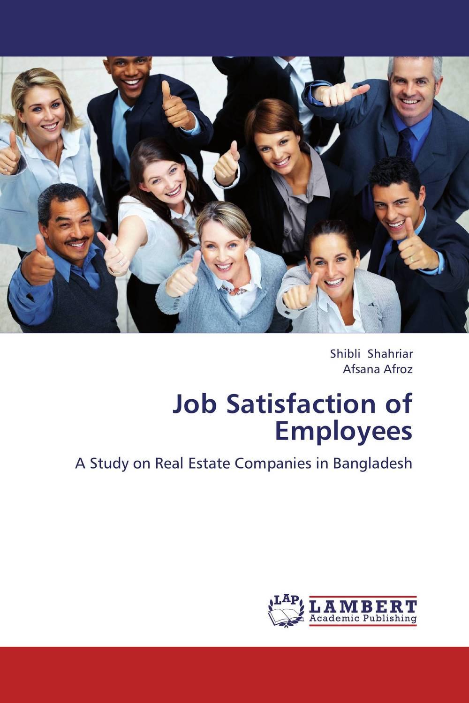 Job Satisfaction of Employees proper satisfaction in bank