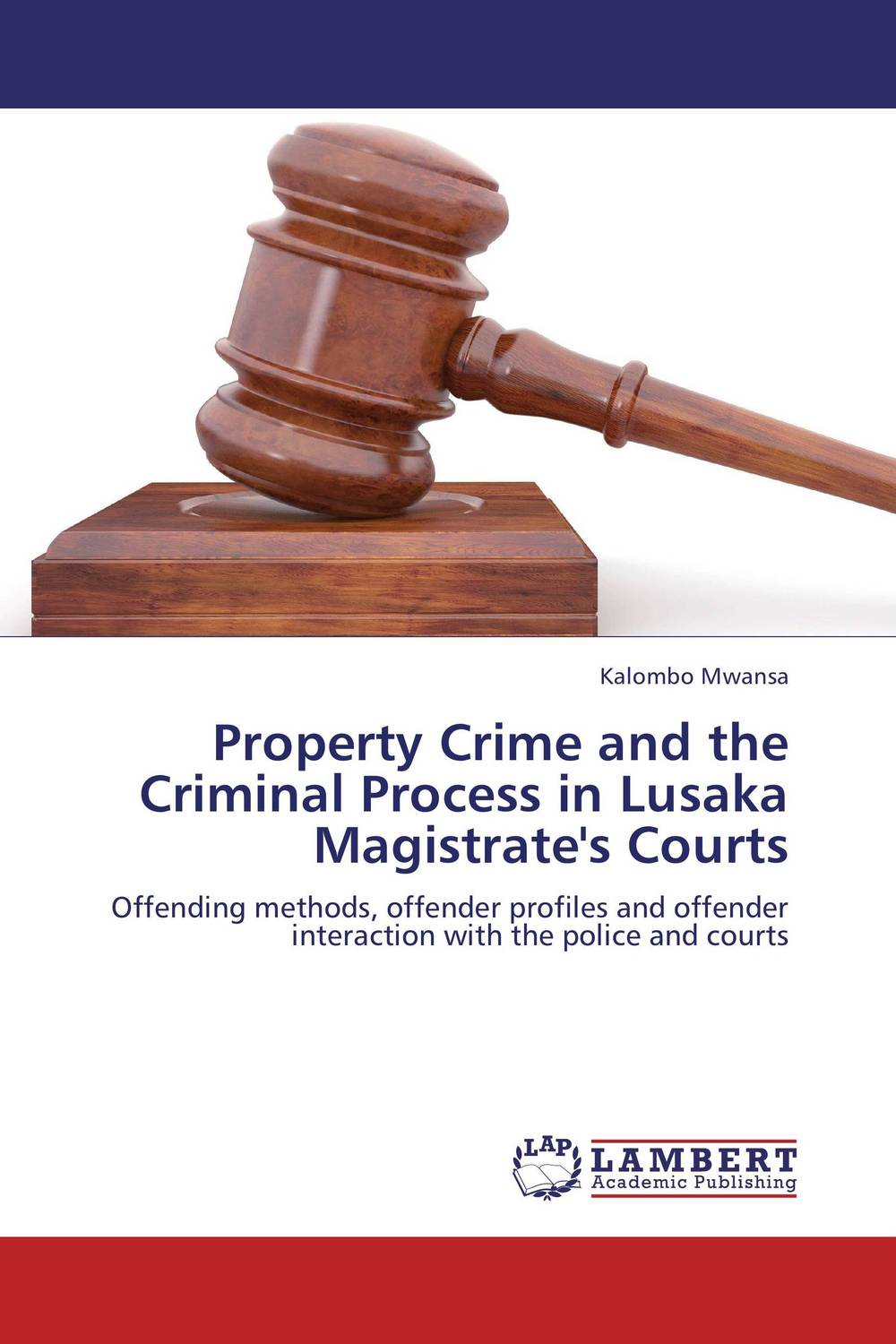 Property Crime and the Criminal Process in Lusaka Magistrate's Courts emotions crime and justice
