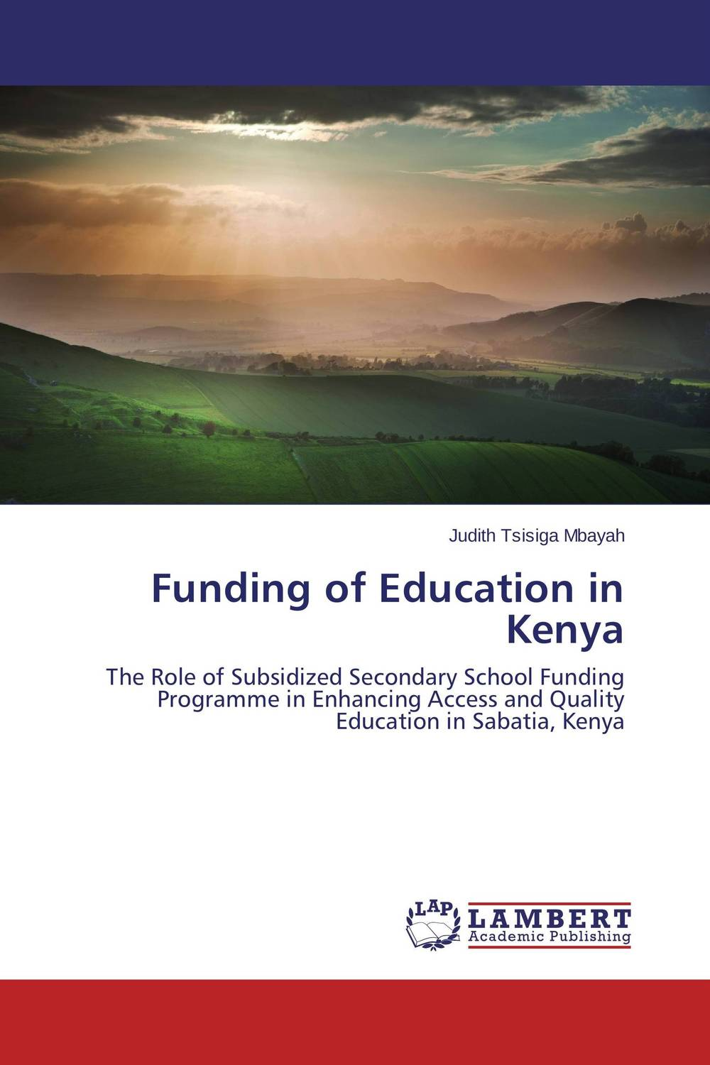 Funding of Education in Kenya the church of god and education in vihiga county kenya 1938 1989