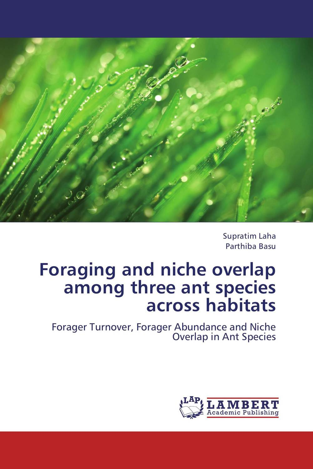 Foraging and niche overlap among three ant species across habitats купить