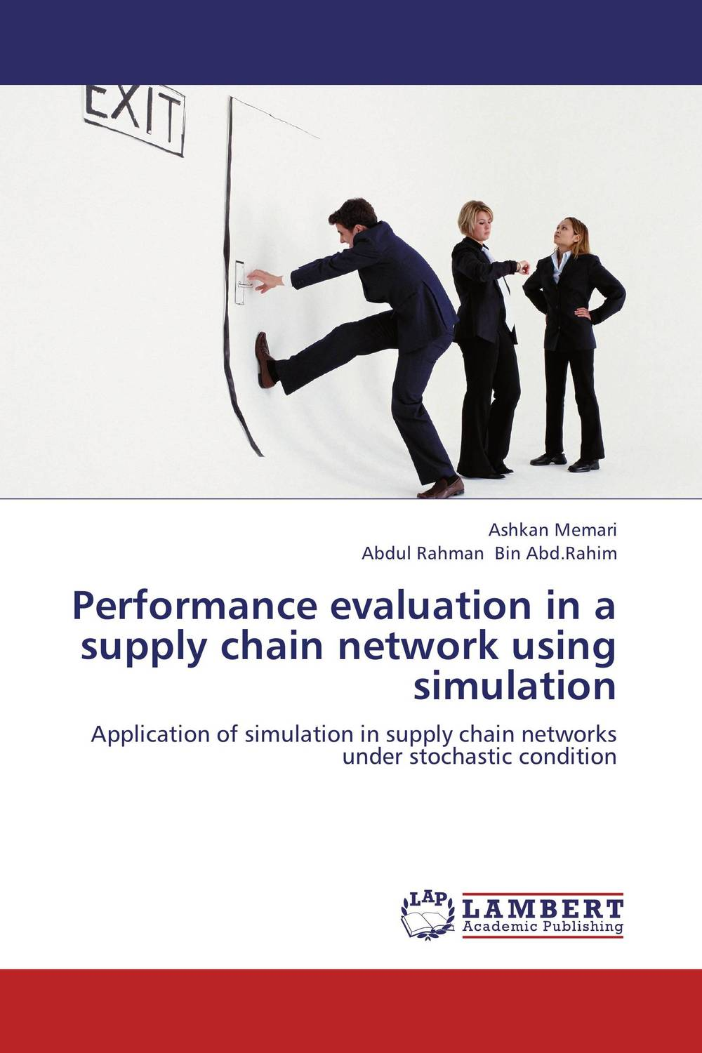Performance evaluation in a supply chain network using simulation performance or instability