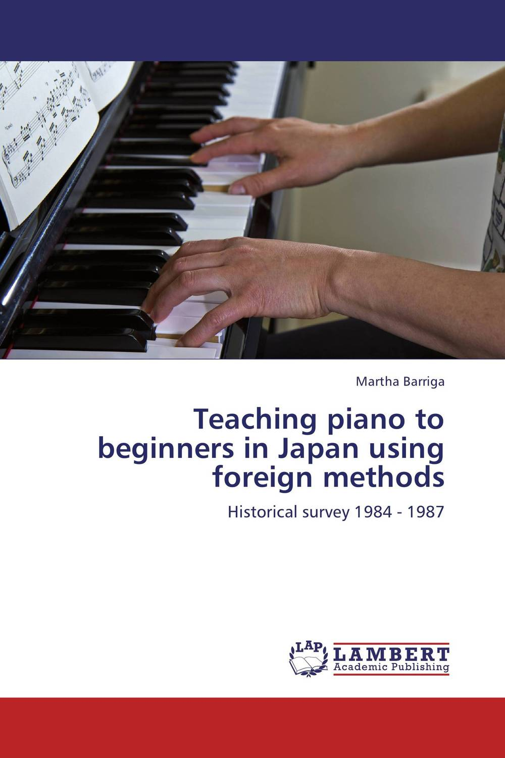Teaching piano to beginners in Japan using foreign methods piano books for the young musician