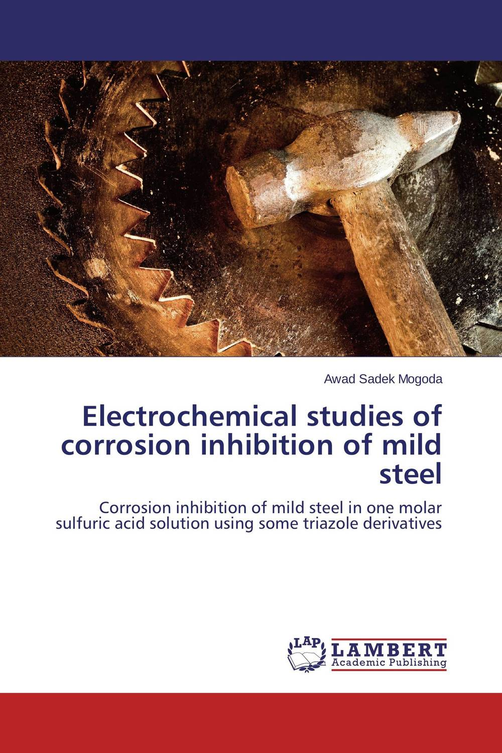 Electrochemical studies of corrosion inhibition of mild steel