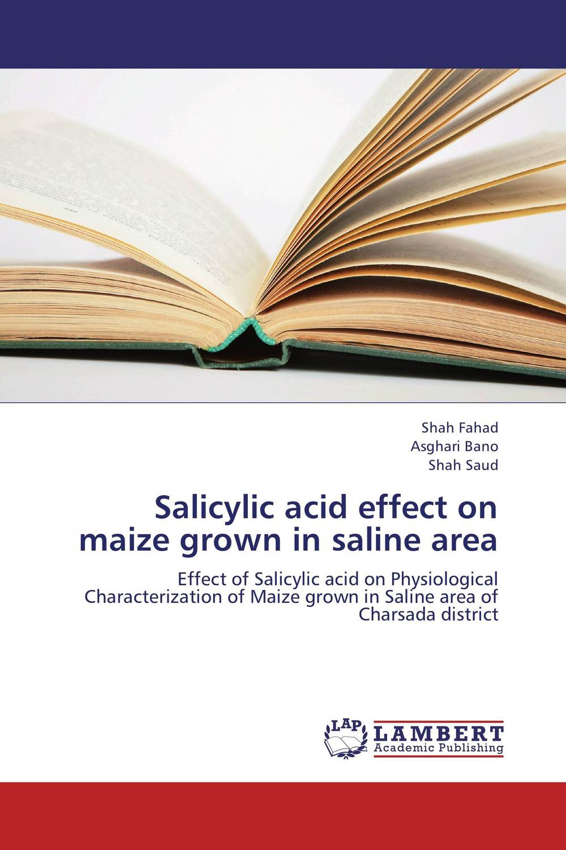 Salicylic acid effect on maize grown in saline area