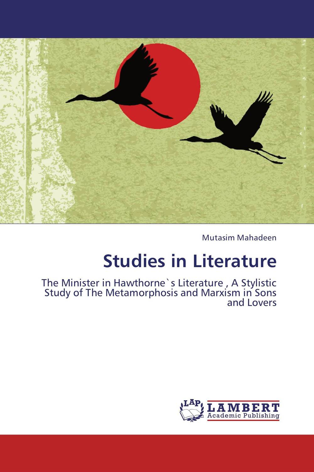 Studies in Literature studies in literature