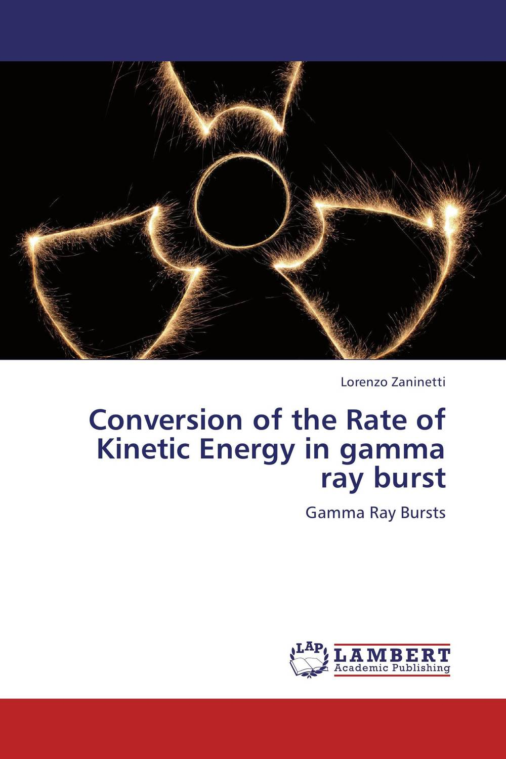 Conversion of the Rate of Kinetic Energy in gamma ray burst the evolution of color vision