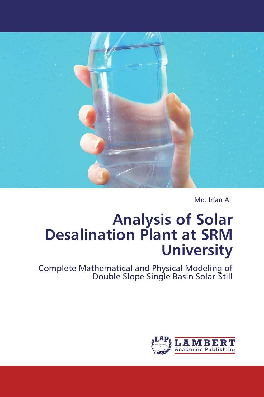 Analysis of Solar Desalination Plant at SRM University купить
