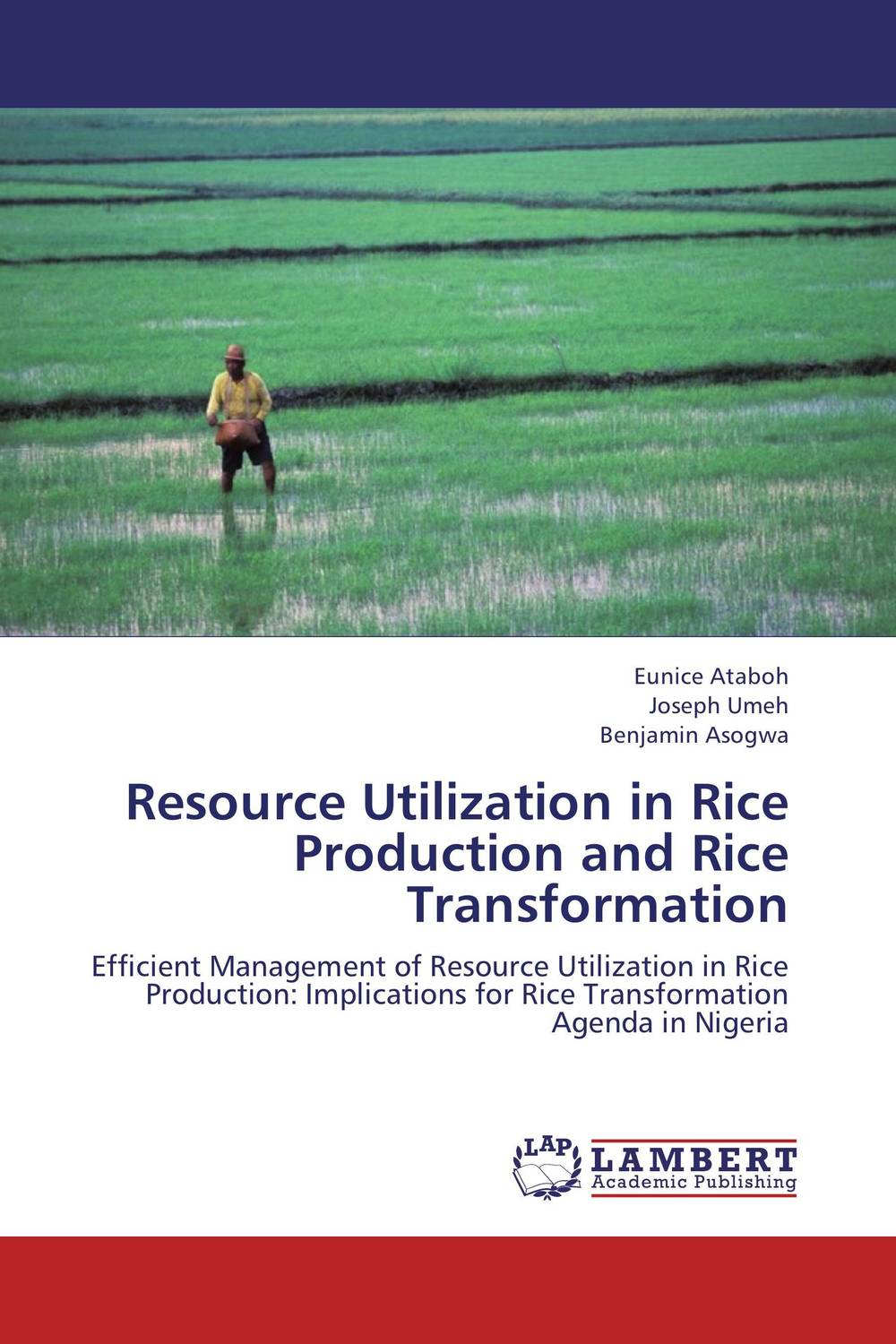 Resource Utilization in Rice Production and Rice Transformation matthew oluwasanmi sedowo rice production in the tropics a panacea for poverty and hunger